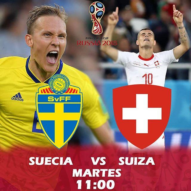 Partido por TDN Suecia vs Suiza en Vivo Rusia 2018