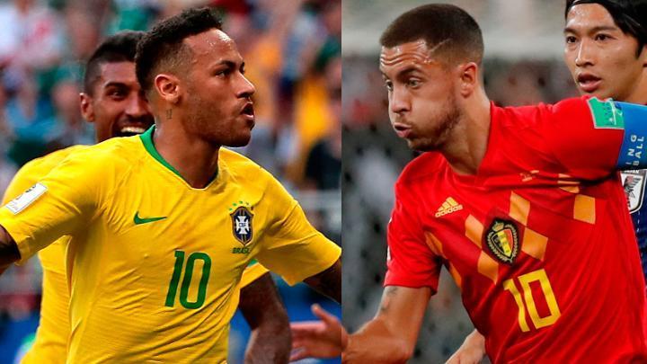 Por Azteca 7 Brasil vs Bélgica en Vivo Rusia 2018