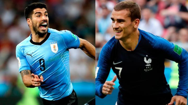 Por Azteca 7 en Vivo Uruguay vs Francia por Internet Rusia 2018