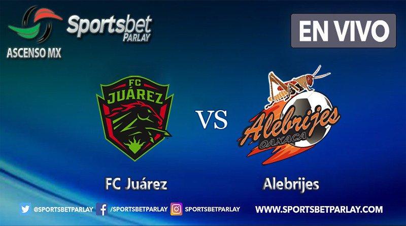 Por ESPN el partido Juárez vs Alebrijes en Vivo Ascenso MX 2018