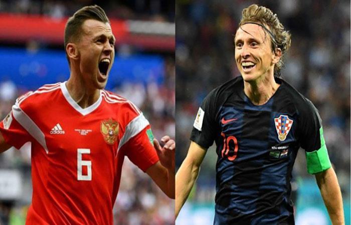 Por SKY Rusia vs Croacia en Vivo Online Rusia 2018