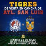 Por Univision Deportes Atlético San Luis vs Tigres en Vivo Copa MX 2018