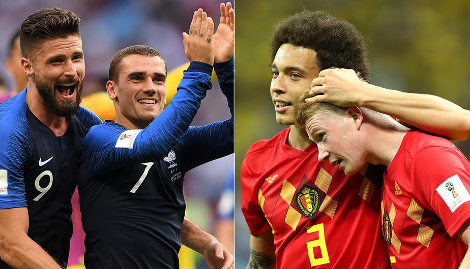 Ver por Azteca 7 Francia vs Bélgica en Vivo Rusia 2018