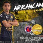 Veracruz vs Dorados en Vivo Minuto a minuto online Copa MX 2018
