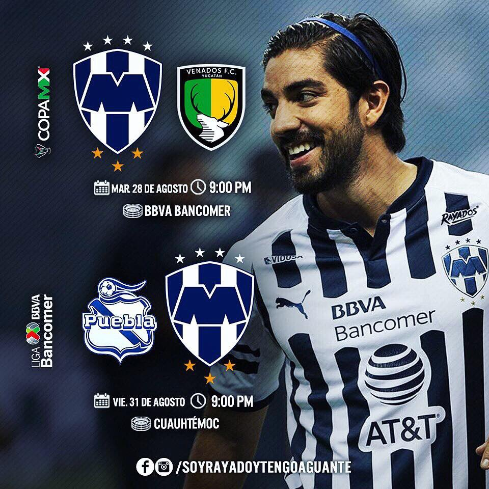 Copa MX 2018 Rayados vs Venados en Vivo 2018