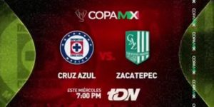 Copa MX Cruz Azul vs Zacatepec en Vivo 2018
