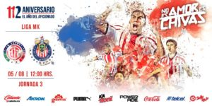 En que canal juega Toluca vs Chivas en Vivo Liga MX 2018