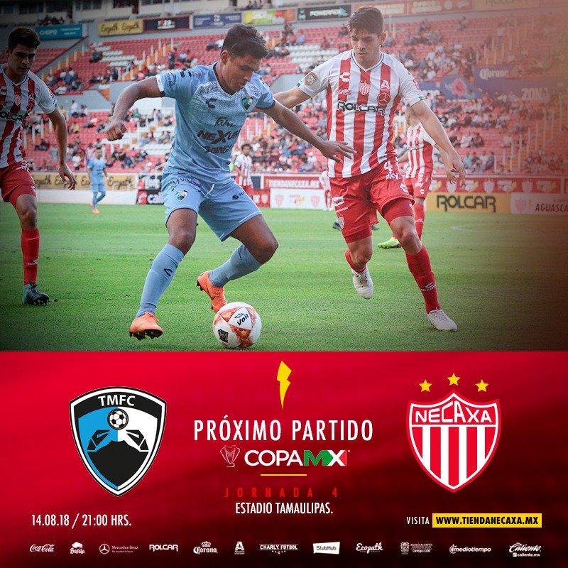En Vivo Tampico Madero vs Necaxa 2018 Copa MX 2018