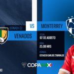 Fox Sports Venados vs Rayados en Vivo Copa MX 2018