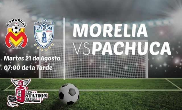 Fútbol Mexicano en Vivo Monarcas vs Pachuca Liga MX 2018