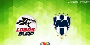 Jornada 6 Lobos BUAP vs Rayados en Vivo Liga MX 2018