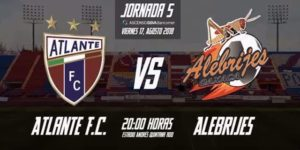 Minuto a minuto Atlante vs Alebrijes en Vivo por internet Ascenso MX 2018