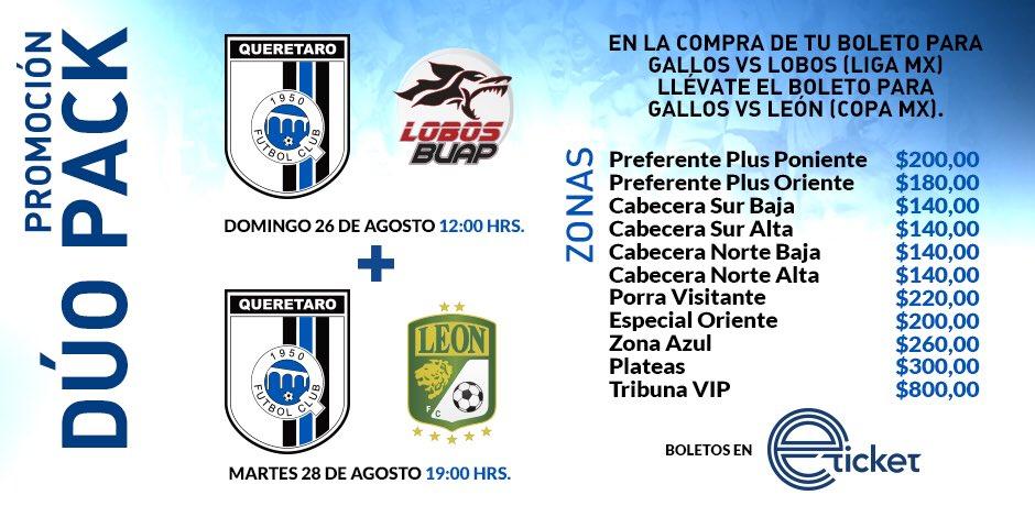 Partido en Vivo Querétaro vs Lobos BUAP 2018 Liga MX 2018