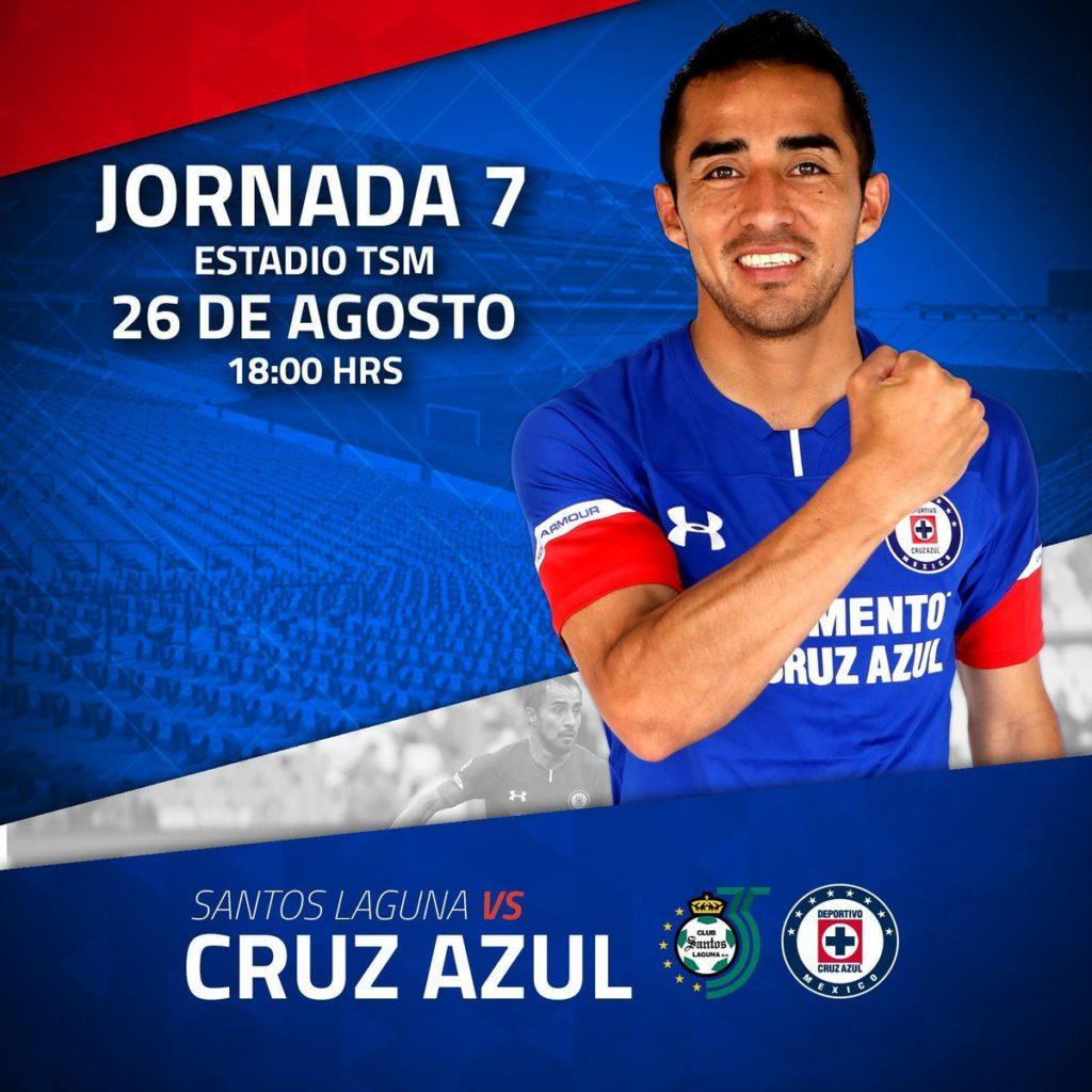 Partido en Vivo Santos vs Cruz Azul 2018 Liga MX 2018