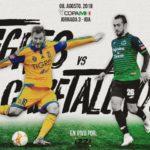 Partido Tigres vs Tapachula Izzi en Vivo Copa MX 2018