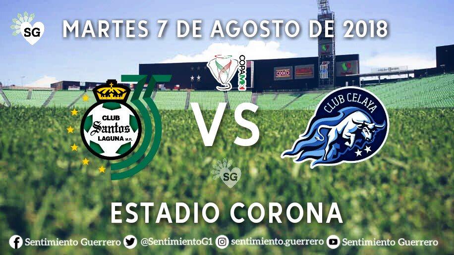 Por ESPN Santos vs Celaya en Vivo hoy Copa MX 2018