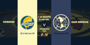 Por TDN Dorados vs América en Vivo Copa MX 2018