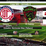 Toluca vs Juárez en Vivo por ESPN Copa MX 2018