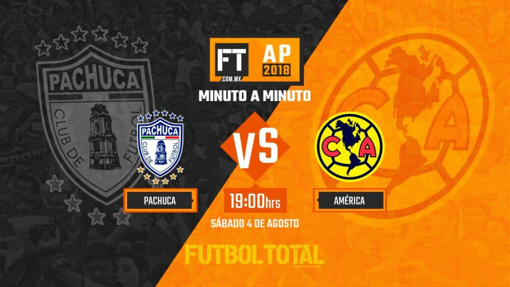Ver Fox Sports Pachuca vs América en Vivo Liga MX 2018