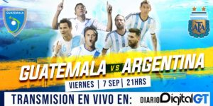 Argentina vs Guatemala en Vivo 2018 Amistoso 2018