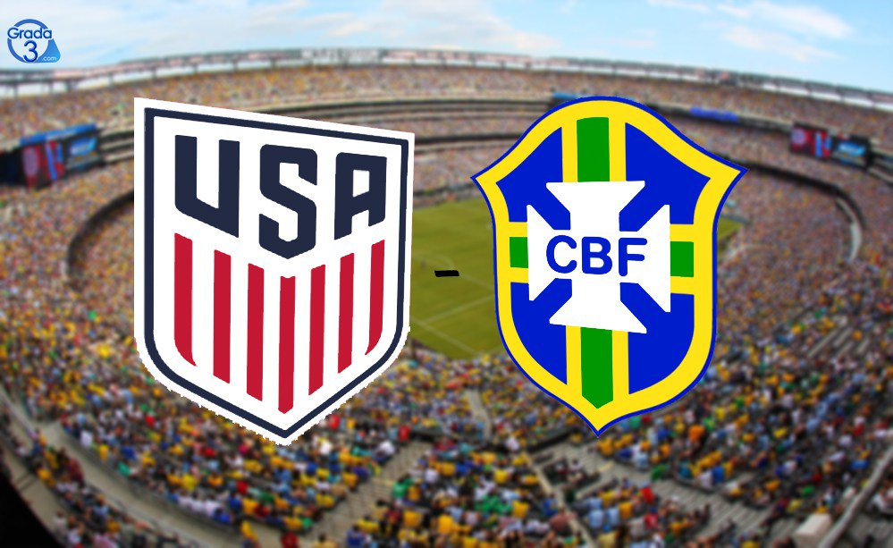 Estados Unidos vs Brasil en Vivo 2018 Amistoso 2018