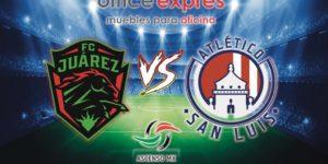 Jornada 7 Bravos vs Atlético San Luis en Vivo Ascenso MX 2018