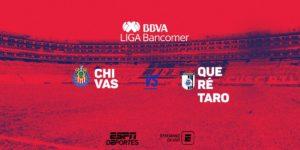 Juego Chivas vs Querétaro en Vivo 2018 TDN Liga MX