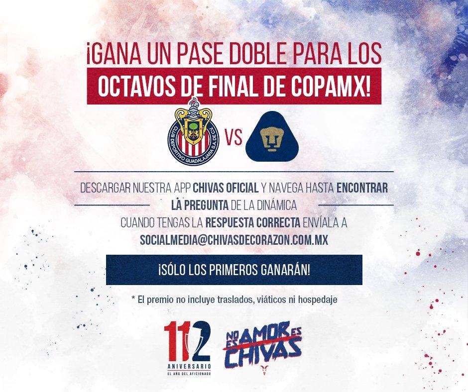 Partido Copa MX Chivas vs Pumas en Vivo 2018 previo Morelia U.N.A.M.
