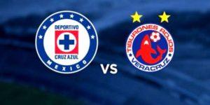 Partido Cruz Azul vs Veracruz en Vivo Jornada 8 Liga MX 2018