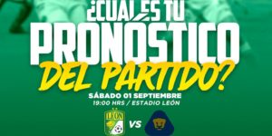 Partido León vs Pumas en Vivo Jornada 8 Liga MX 2018
