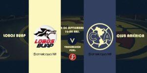 Partido Lobos BUAP vs América en Vivo Jornada 8 Liga MX 2018