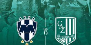Partido Rayados vs Zacatepec en Vivo 2018 Copa MX