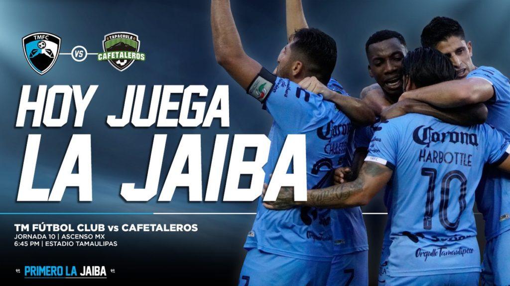 Tampico Madero vs Cafetaleros en Vivo 2018 Ascenso MX