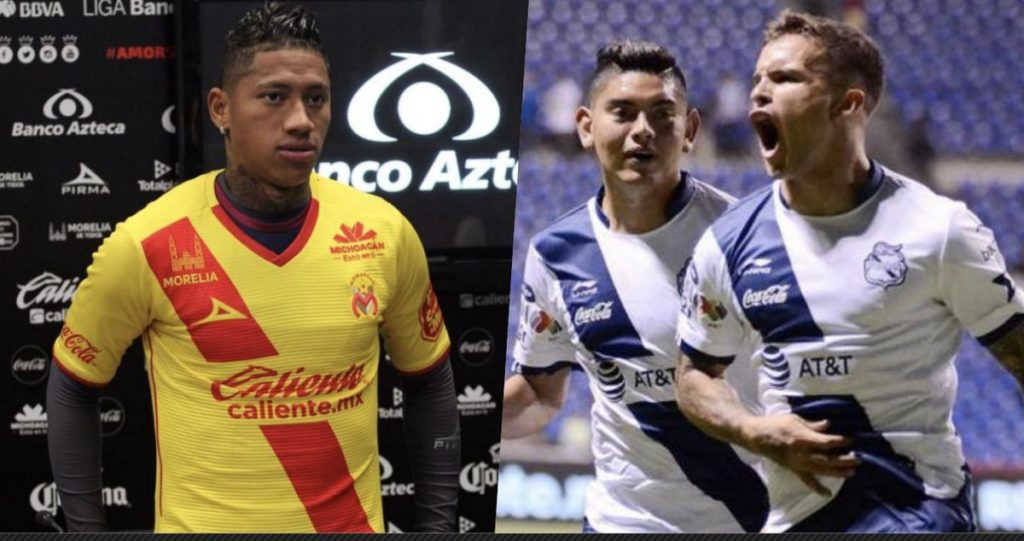 A que hora juega Morelia vs Puebla 2018 en Vivo Liga MX