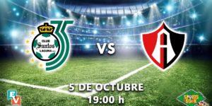 A que hora juega Santos vs Atlas 2018 Liga MX