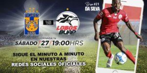 A que hora juega Tigres vs Lobos BUAP 2018 Liga MX