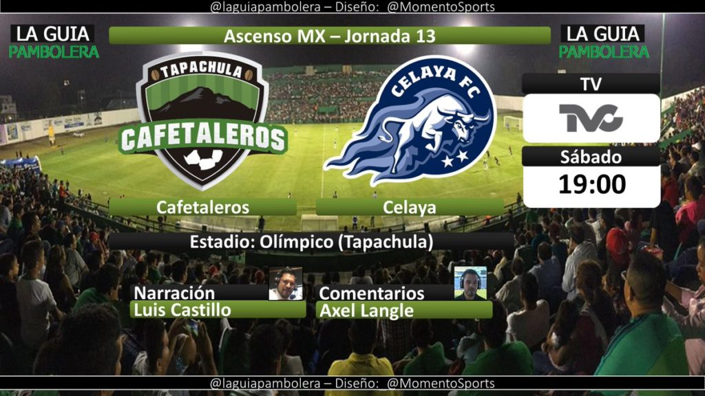 En Vivo Cafetaleros vs Celaya 2018 Ascenso MX