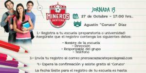 En vivo Zacatepec vs Mineros 2018 Online Ascenso MX