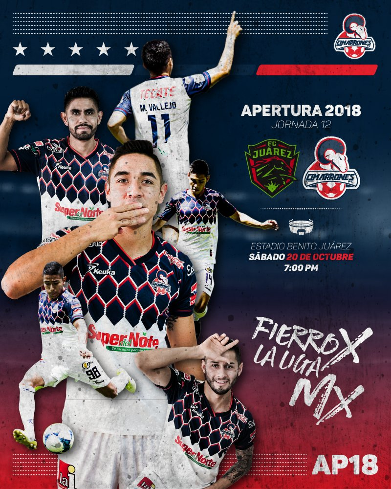 Partido Bravos vs Cimarrones 2018 en Vivo Ascenso MX