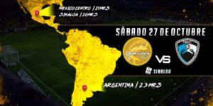 Partido Dorados vs Tampico Madero 2018 en Vivo Ascenso MX