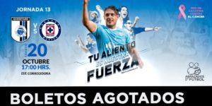 Partido Querétaro vs Cruz Azul 2018 en Vivo Liga MX