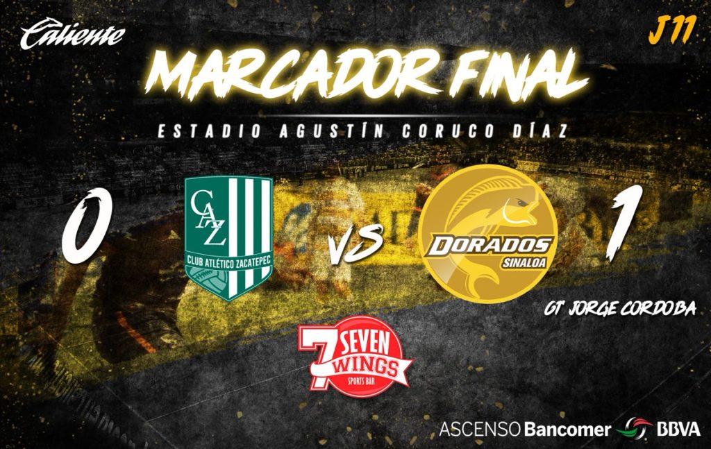 Vídeo resumen Zacatepec vs Dorados 2018 Ascenso MX