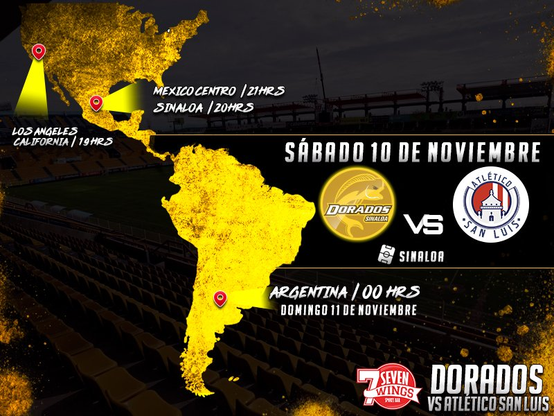Dorados vs Atlético San Luis en Vivo 2018 Ascenso MX