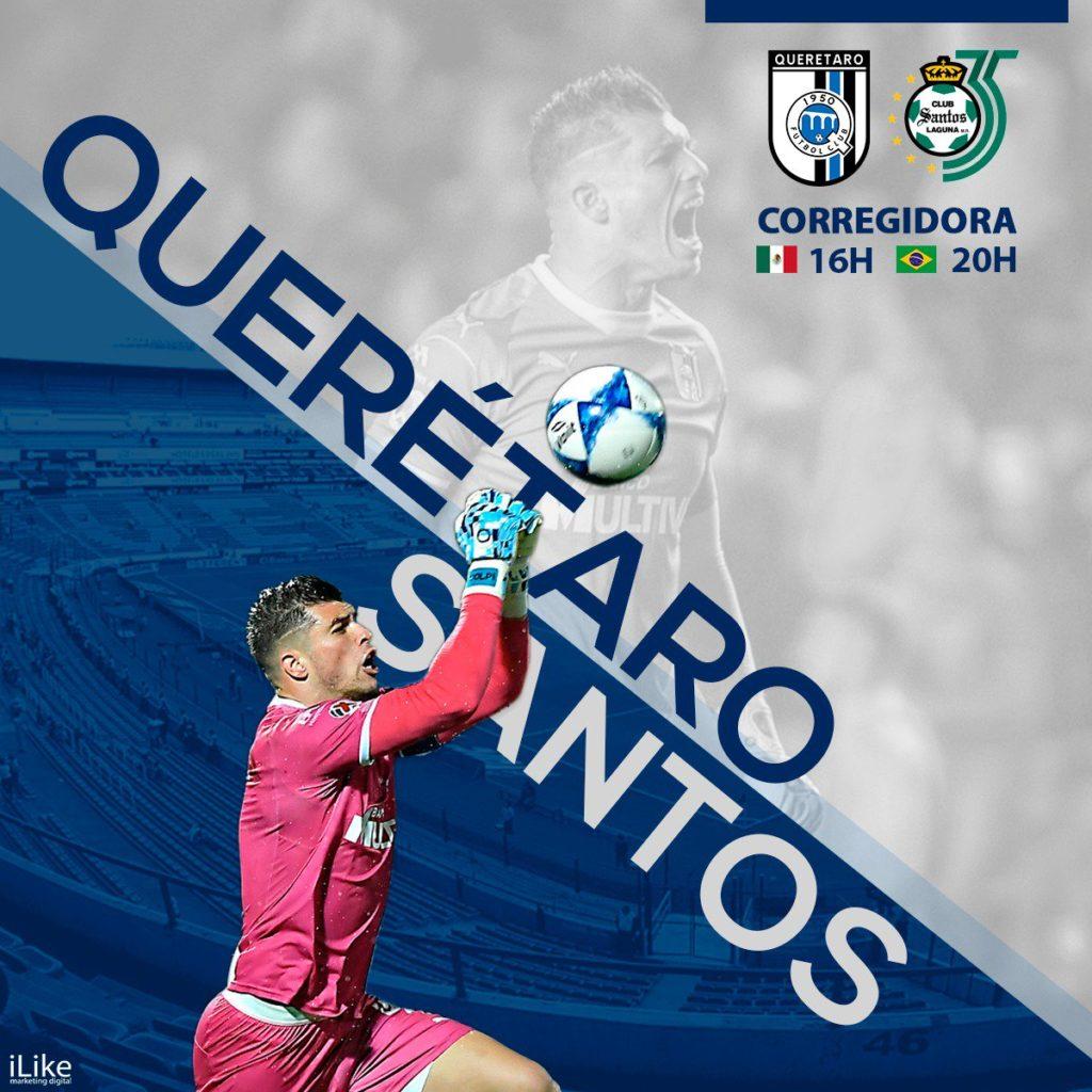 En que canal juega Gallos vs Santos 2018 Liga MX