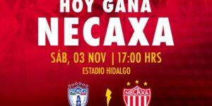 En vivo a que hora juega Pachuca vs Necaxa 2018 Liga MX