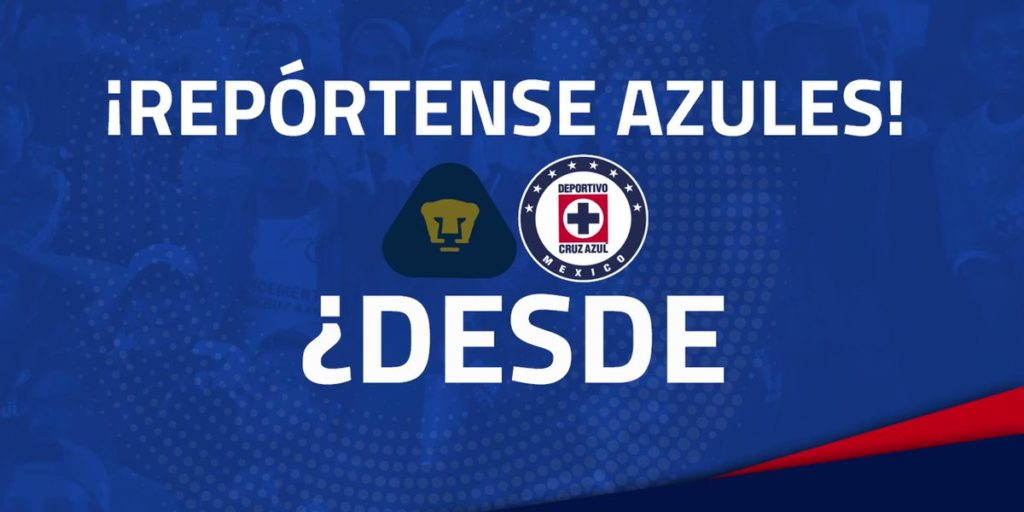 En vivo TDN Pumas vs Cruz Azul 2018 Liga MX