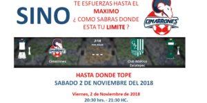 En vivo TVC Deportes Cimarrones vs Zacatepec 2018 Ascenso MX