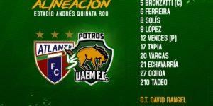 Juego Atlante vs Potros UAEM en Vivo 2018 Ascenso MX