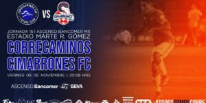 Partido Correcaminos vs Cimarrones 2018 Ascenso MX
