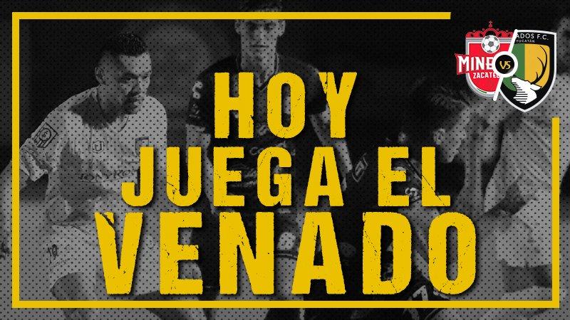 Partido Mineros vs Venados en Vivo 2018 Ascenso MX
